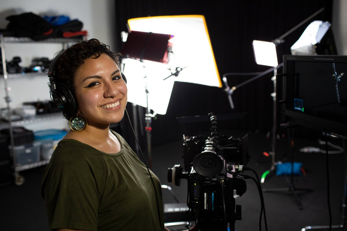 """Michelle Perea (Documentary Intern)Was there a moment during your internship where you surprised yourself?""""I was nervous when tasked with creating motion graphics for Toy Story 4 bonus material, but surprised myself with my knowledge and ability to create some nice effects!"""""""