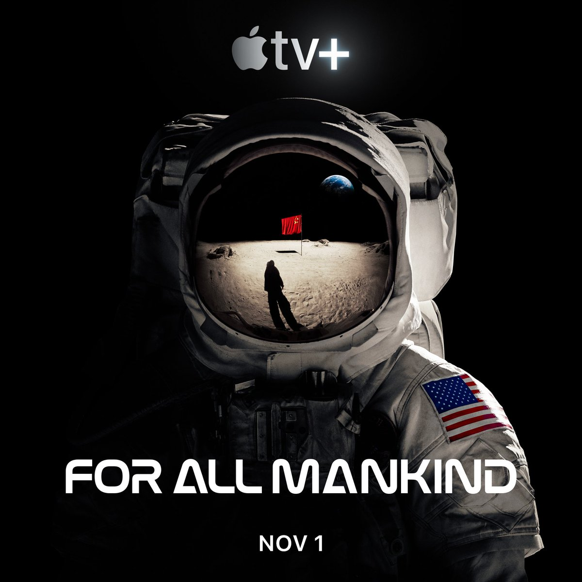 Image result for apple tv+ for all mankind poster