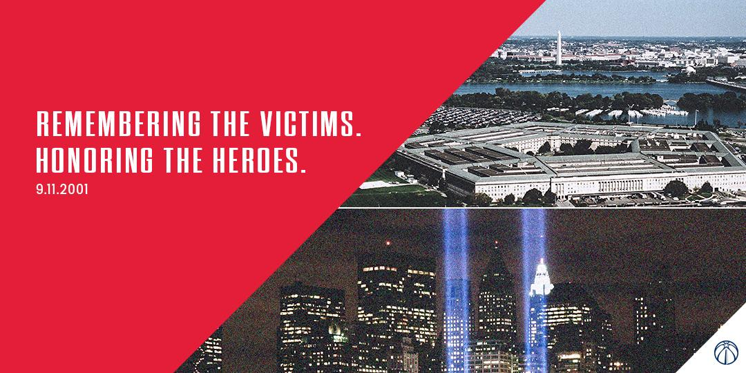 We will #NeverForget.