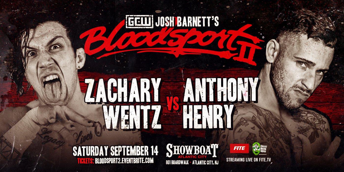 Wentz-Henry at Bloodsport 2