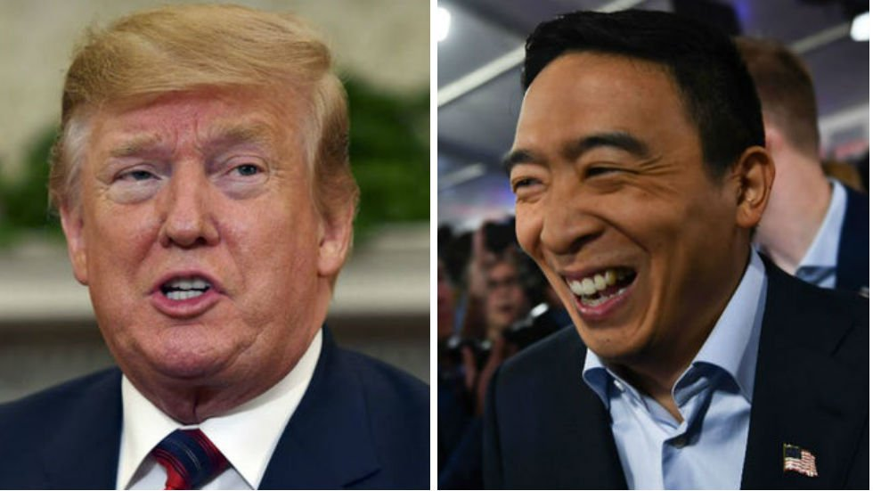 NEW POLL: Trump trailing Andrew Yang by 8 points in New Hampshire hill.cm/0gwAblM