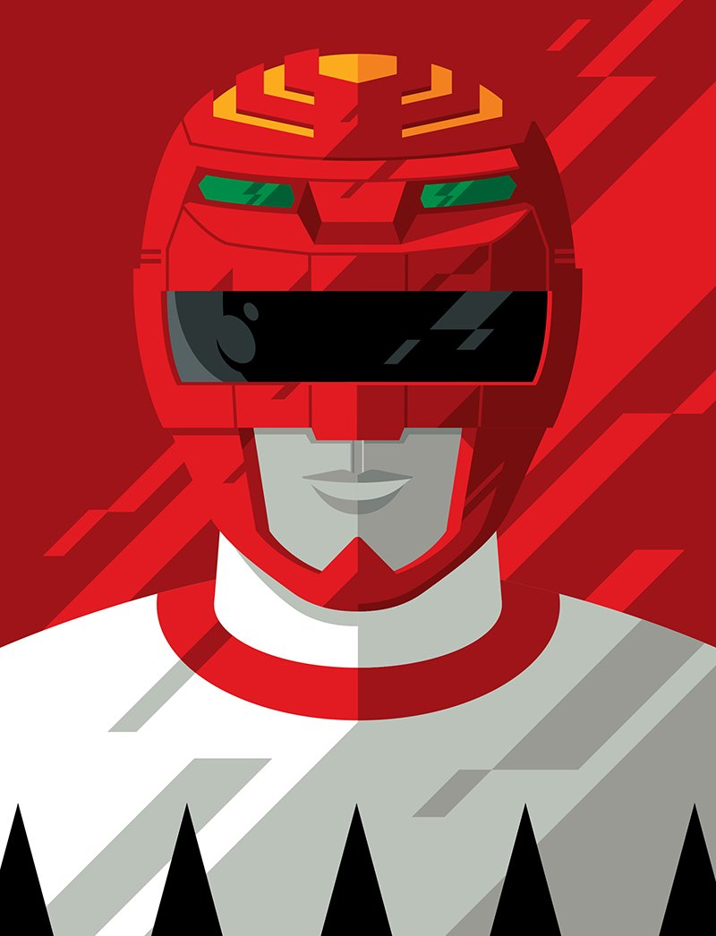 Tom Whalen On Twitter Lost Galaxy Red Ranger Psycho Red Ranger