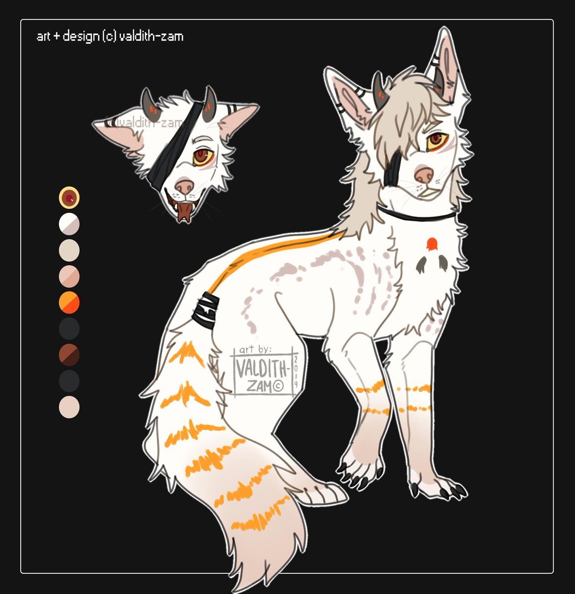 Fox girl furry  fursona adopt  adoptable