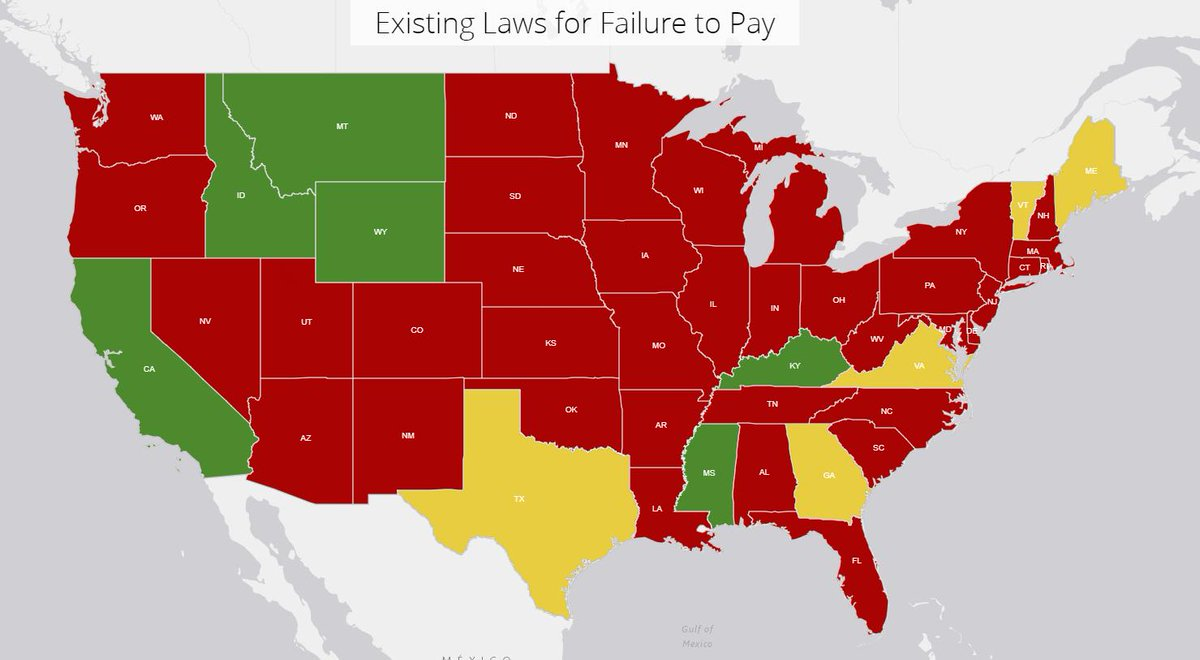 NEW: The #FreetoDrive coalition released a series of interactive maps showing which states suspend driver's licenses for unpaid fines and fees.  Despite recent reforms, 44 states still suspend driver's licenses for failure to pay.  Explore the maps: https://t.co/dLxbt5IBhH https://t.co/VEUDKp02gx