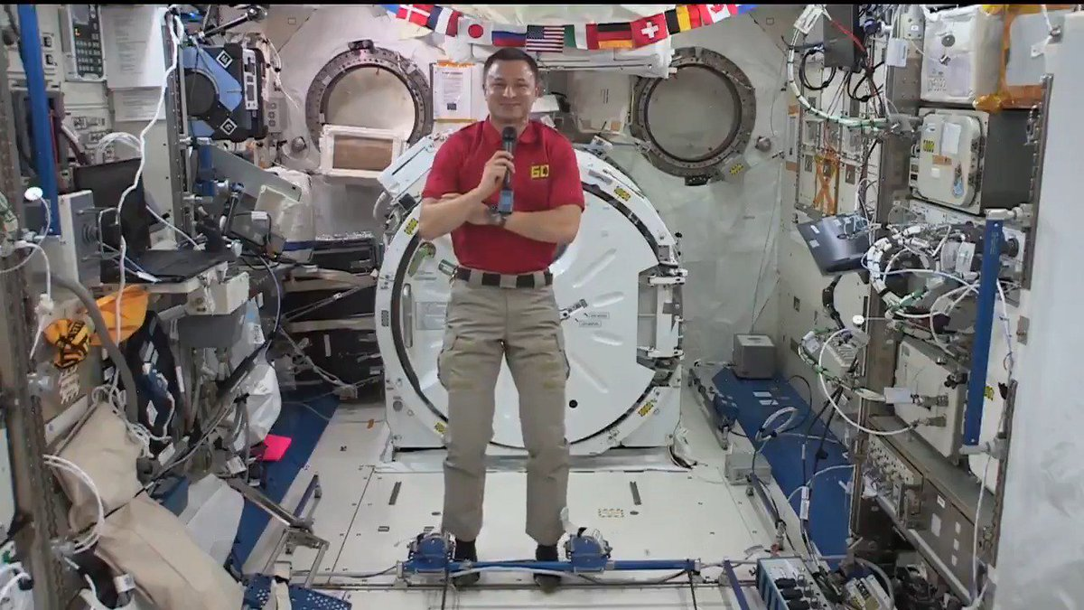 Waving at West Virginia 👋 @AstroDrewMorgan shares his familys story and connection to @WestVirginiaU. If you live in the Mountain State, set your alarm to wave back! The station will fly over tomorrow, Sept. 11, at 5:44 am ET. Learn how to spot it: spotthestation.nasa.gov