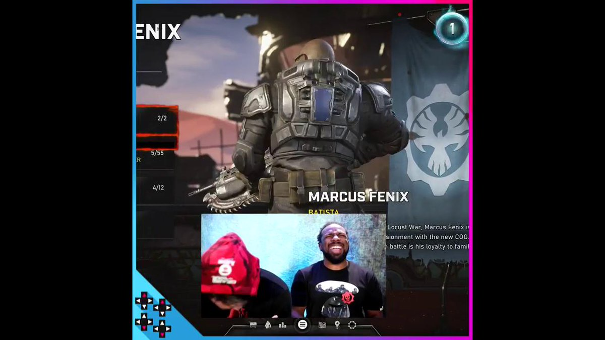 GIVE HIM WHAT HE WANTS! Here's your first look at @DaveBautista as #MarcusFenix in @gearsofwar on @xbox! #Gears5 @XavierWoodsPHD @mmmgorgeous https://youtu.be/K5Tlq1MnPJk