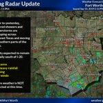 Image for the Tweet beginning: Evening Radar Update: Similar to