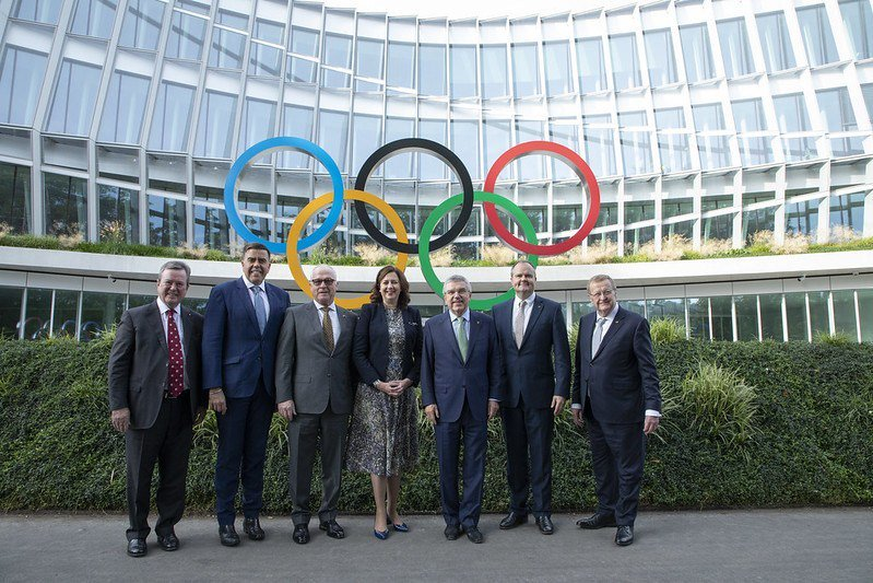 test Twitter Media - #IOC President Bach Says @AusOlympicTeam 2032 Olympic Bid Could Be Elected Early #Brisbane2032 @AnnastaciaMP https://t.co/Iib6EMcJSW https://t.co/HumzsLvzHe