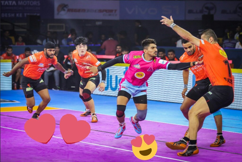 @JaipurPanthers @HaryanaSteelers #nitinrawal  My hero only one