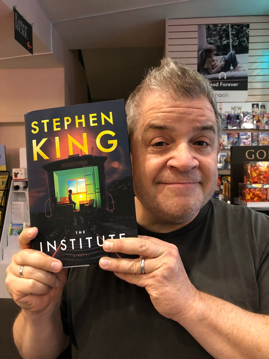 1) Just a flat-out UN-HUMBLE brag. Ive been reading @StephenKing since I was 10. And for THIS to happen is a BIG BIG deal. Not exaggerating when I say everything after this is fun and games. This is a zenith I never imagined.