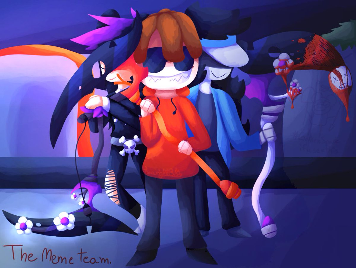 Note The Drawing Has Blood In It I Drew My Team In - labyrinth roblox game