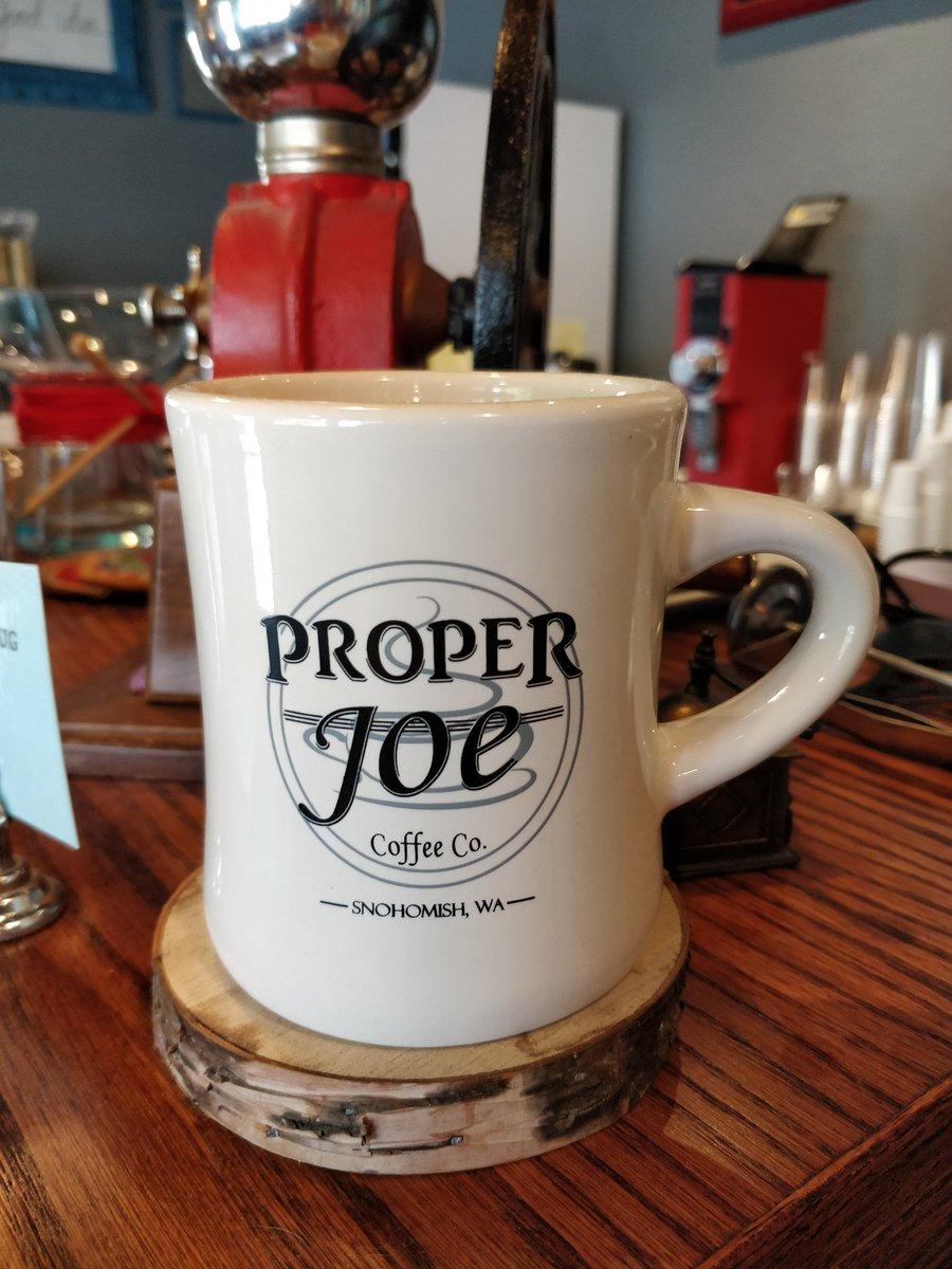 Getting fuel for the SKG meeting...<br>http://pic.twitter.com/Ln3iXSJQbC – à Proper Joe Coffeehouse