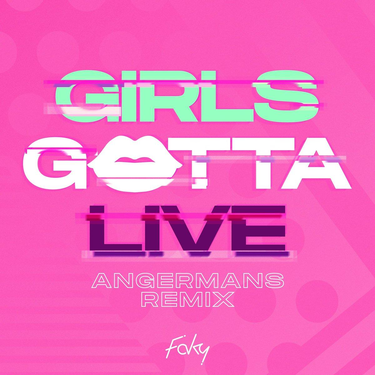 【 GIRLS GOTTA LIVE リミックス配信スタート💄📸】FAKYDigital Single「GIRLS GOTTA LIVE -ANGERMANS Remix-」▼StreamingSpotify:Apple Music:LINE MUSIC:AWA:#GGLR
