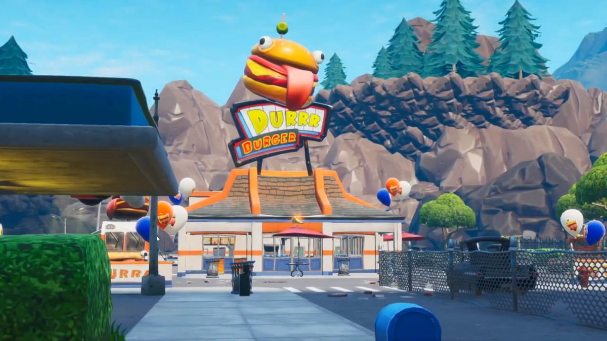 This is what greasy grove is leaked to be. This Is Before Fortnite Season 0 aka When Durr Burger First officially Opened