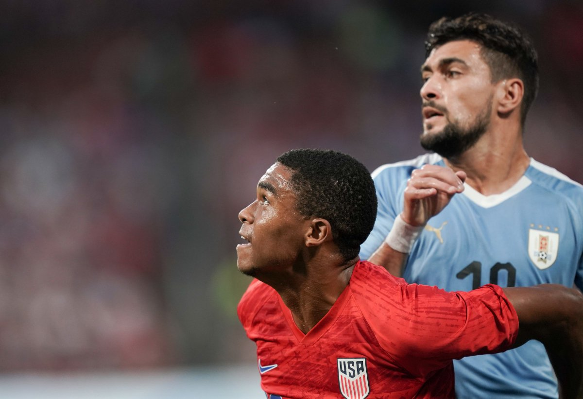 A few more photos from the first half. Let's get it in the second 45 boys! #USAvURU