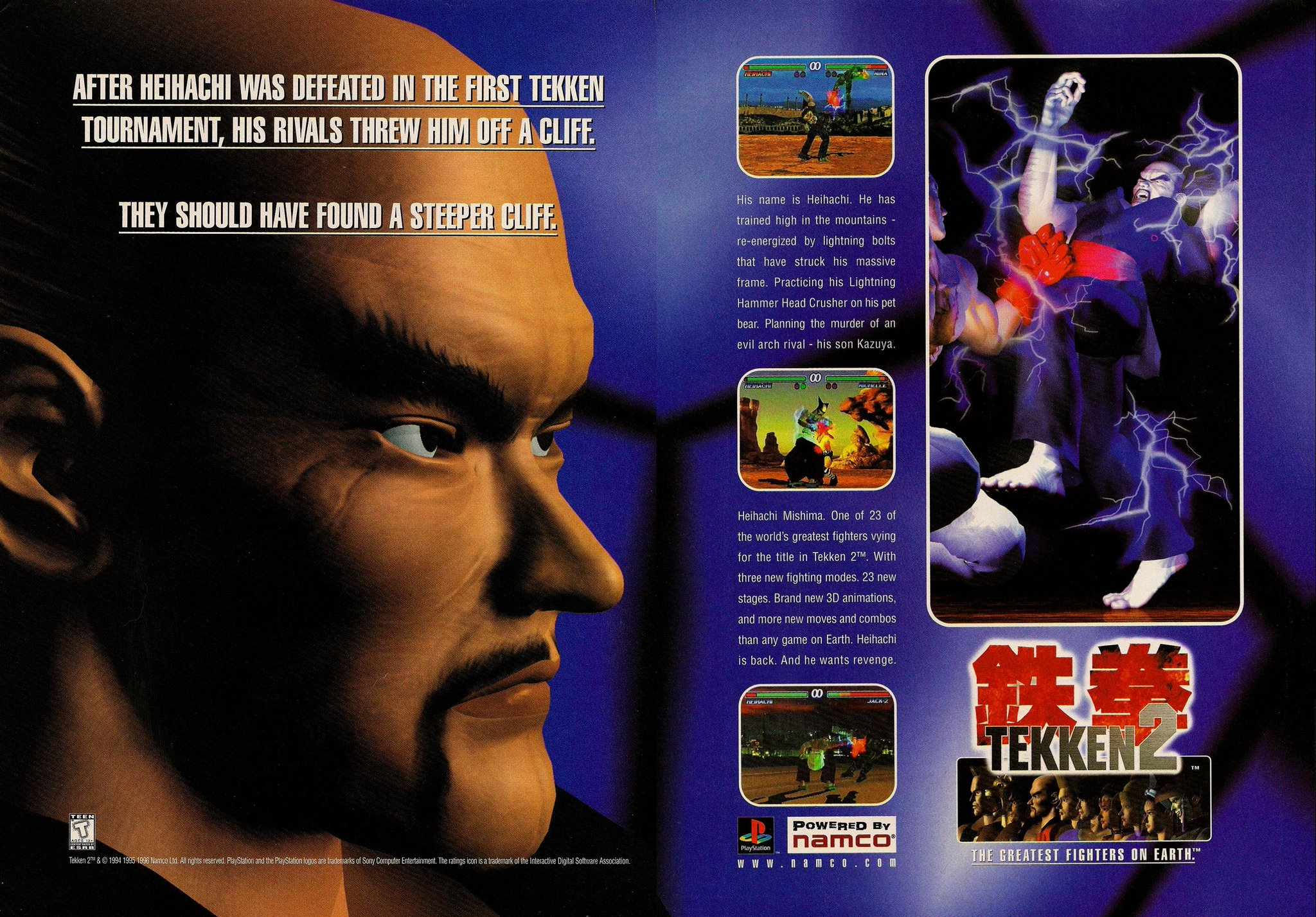 nba jam the book on twitter parallel 1996 print ads for tekken 2 on the playstation ft heihachi mishima and nina williams nba jam the book on twitter