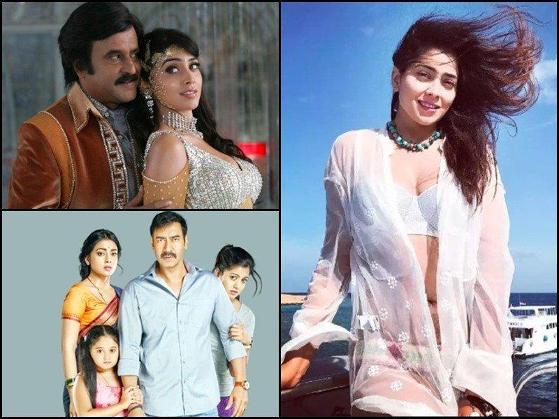 Happy Birthday Shriya Saran Know Shriya Sarans Short Dress Controversy and otherfacts