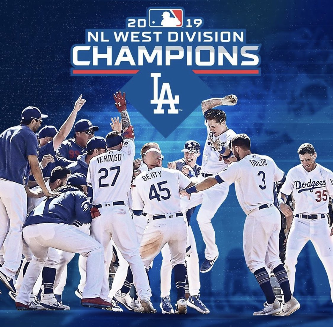 @timcates's photo on #NLWestChamps