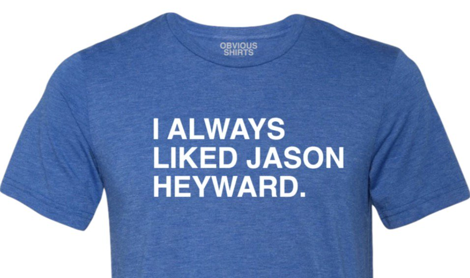 Jason Heyward isn't giving up. Neither should we. Dinger number 20. Shirt: https://obviousshirts.com/products/i-always-liked-j-hey …
