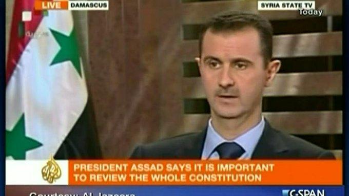 "September 11:Happy 54th birthday to current President of Syria,Bashar al-Assad (\""President since July 17,2000\"")"