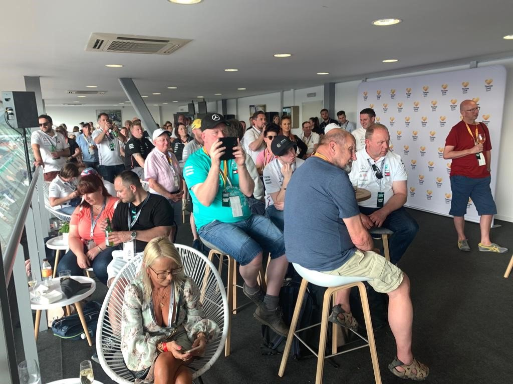 Ever wondered what goes on in the Mercedes camp between races?   Join the @MercedesAMGF1 exclusive event in Abu Dhabi with a Q&A from a member of the team whilst indulging in complimentary canapes. https://t.co/Maapib2syr 🏎️ #motorsport #F1 #AbuDhabiGP https://t.co/Il6iuHGfER