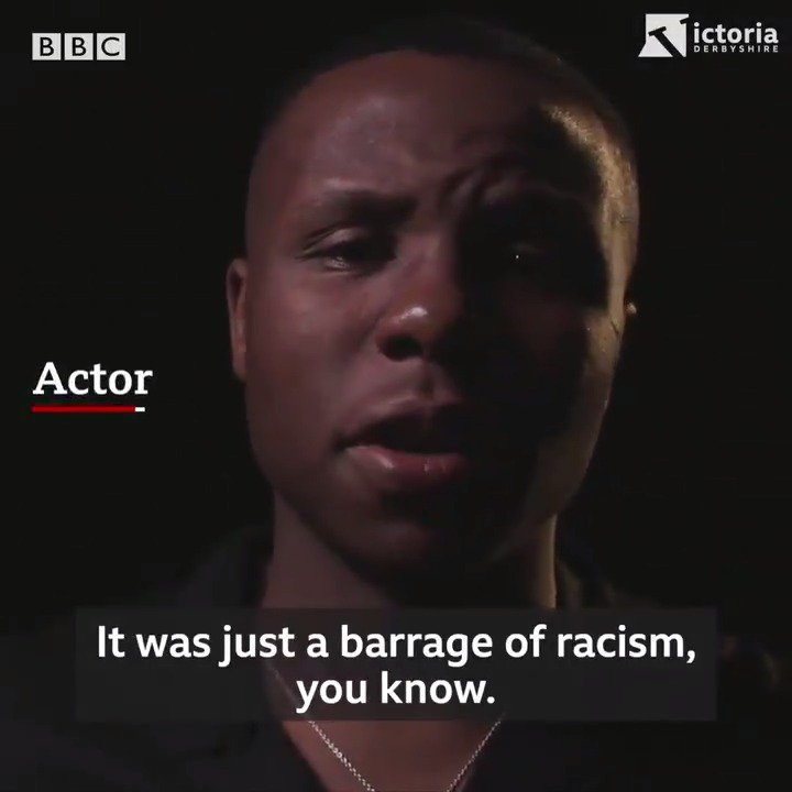 """WARNING: This video contains strong, offensive racist languageTwo ex-Chelsea youth players say they were regularly subjected to racist abuse by the club's former assistant manager.""""It strips you of all your self-worth and confidence,"""" one told us.http://bbc.in/2krvHXr"""