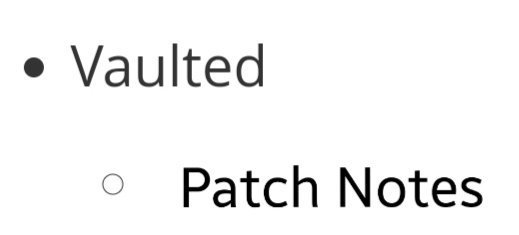 Patch notes are out. <br>http://pic.twitter.com/PFoNdtQS94