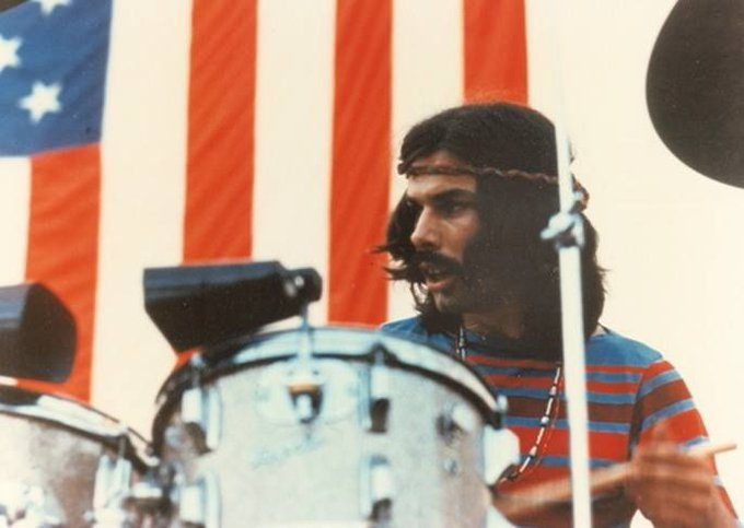 Happy Birthday to Grateful Dead drummer Mickey Hart, born on this day in Brooklyn, New York in 1943.