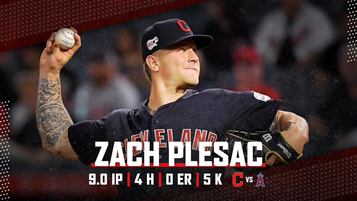 @Indians's photo on zach plesac