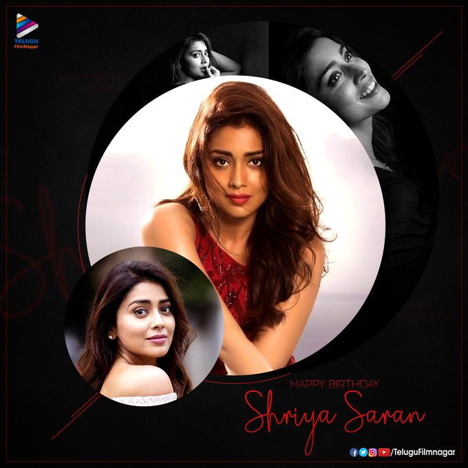 Happy Birthday Shriya Saran