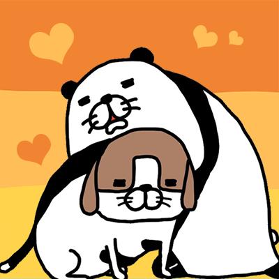 『パンダと犬 いつでも犬かわいーぬ』本日アップデートです✨新しいともだち、新しいおきがえが追加されました😊よろしくお願いしますッ🎉【iOS】【Android】ぜひ更新してみてほしいーぬ✨#パンダと犬 #いつでも犬かわいーぬ #アップデート