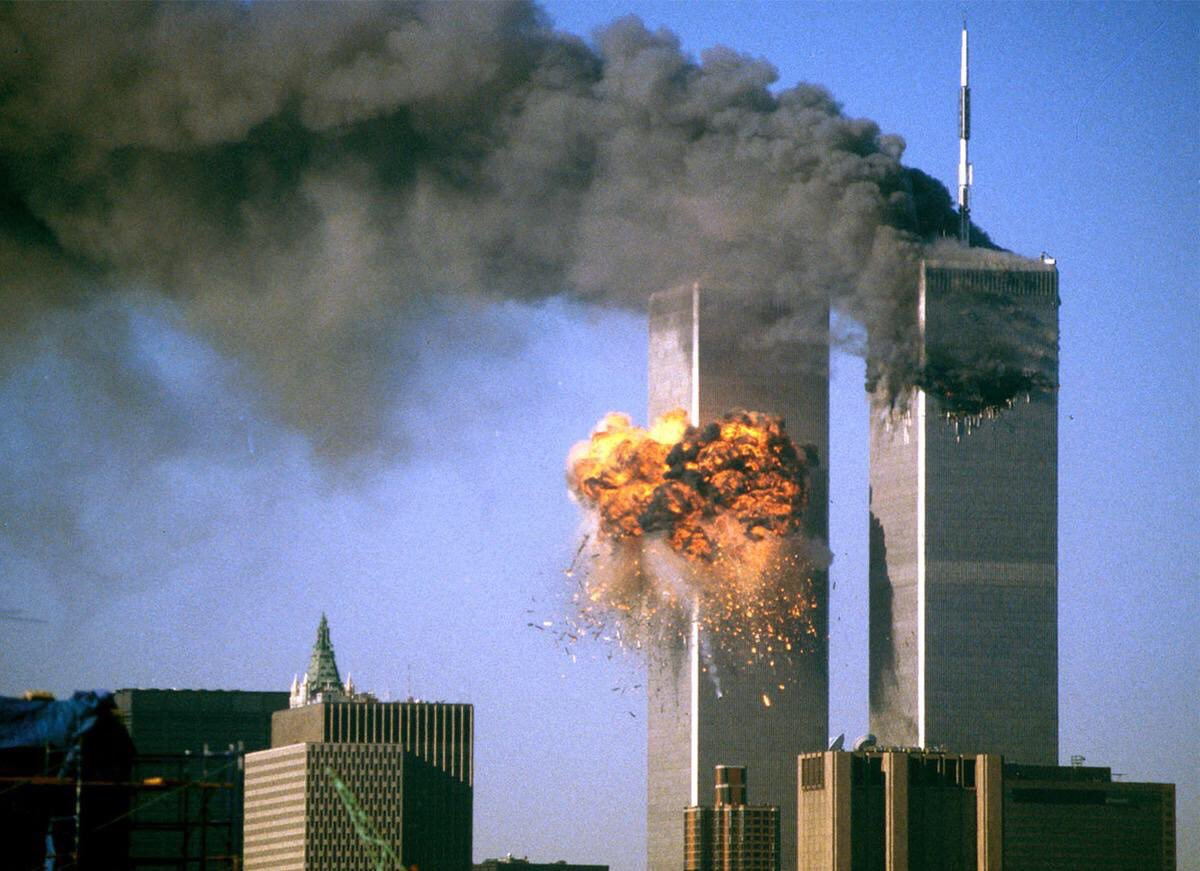 Can't believe it's now 18yrs since the world stood still 9/11. #RIP to all those that were sadly taken from their family's. You will never be forgotten.  #NeverForget #WorldTradeCenter <br>http://pic.twitter.com/7WE5q4laS6