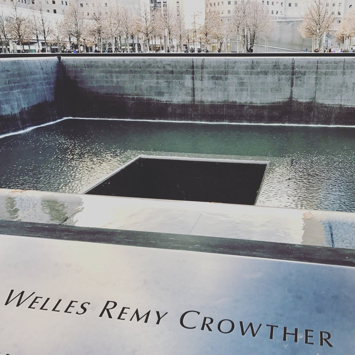 """It's been 18 years and I still get a pit in my stomach. I named my 5th child after Welles Crowther, """"The Man In the Red Bandanna"""". If he's even a fraction of the man Welles was, I'll be a proud mom. #NeverForget"""