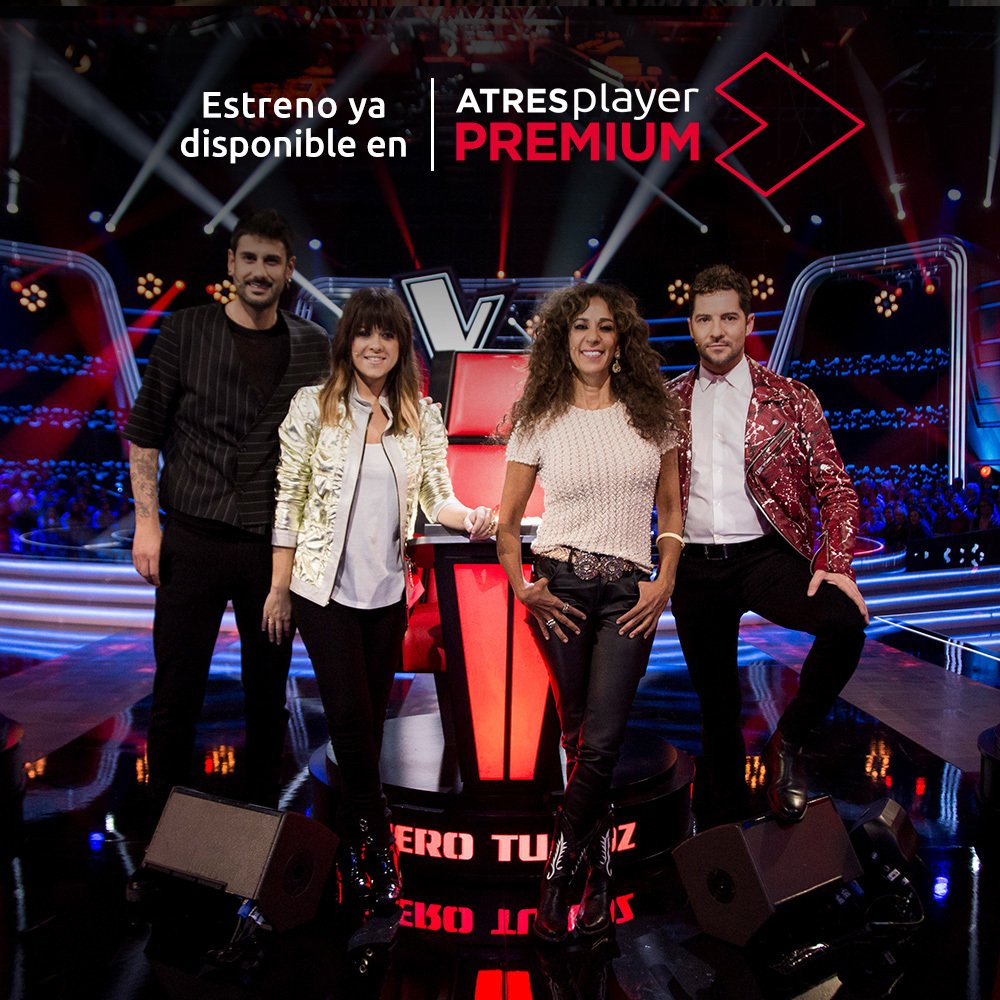 🎙 Abrimos las puertas del plató de @LaVozAntena3 para recibir a pequeñas grandes voces 🎙  💥 YA DISPONIBLE el estreno de @lavozkids en EXCLUSIVA en #ATRESplayerPREMIUM 💥 #LaVozKids https://t.co/Zq0P41ru41 https://t.co/whJrufGpN7