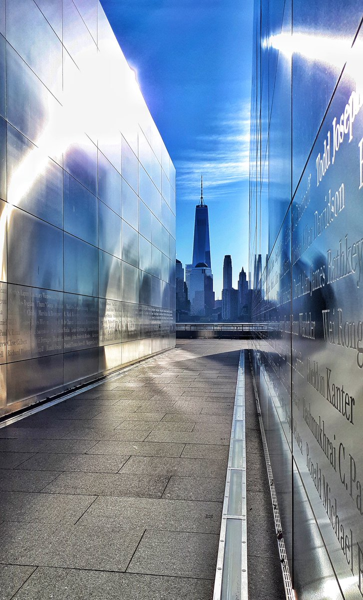 We will never forget  Empty Sky Memorial - USA 2018   #WorldTradeCenter  #11settembre<br>http://pic.twitter.com/9f7m6fEEBr