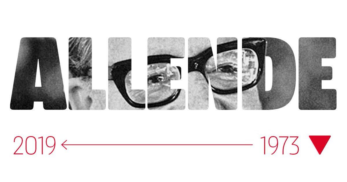 46 años sin Salvador Allende. Su ejemplo y dignidad siempre presentes. #AllendeVive #11deSeptiembre