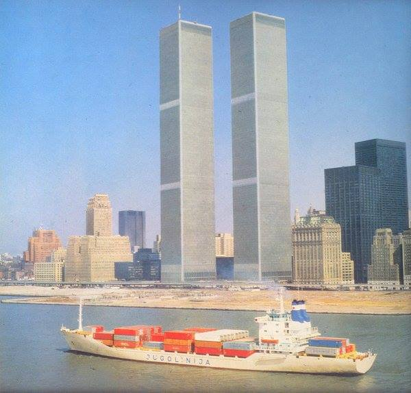 test Twitter Media - Yugoslavia's Jugolinija shipping line and the Twin Towers, New York City#September11th https://t.co/fFE2jFXTxa