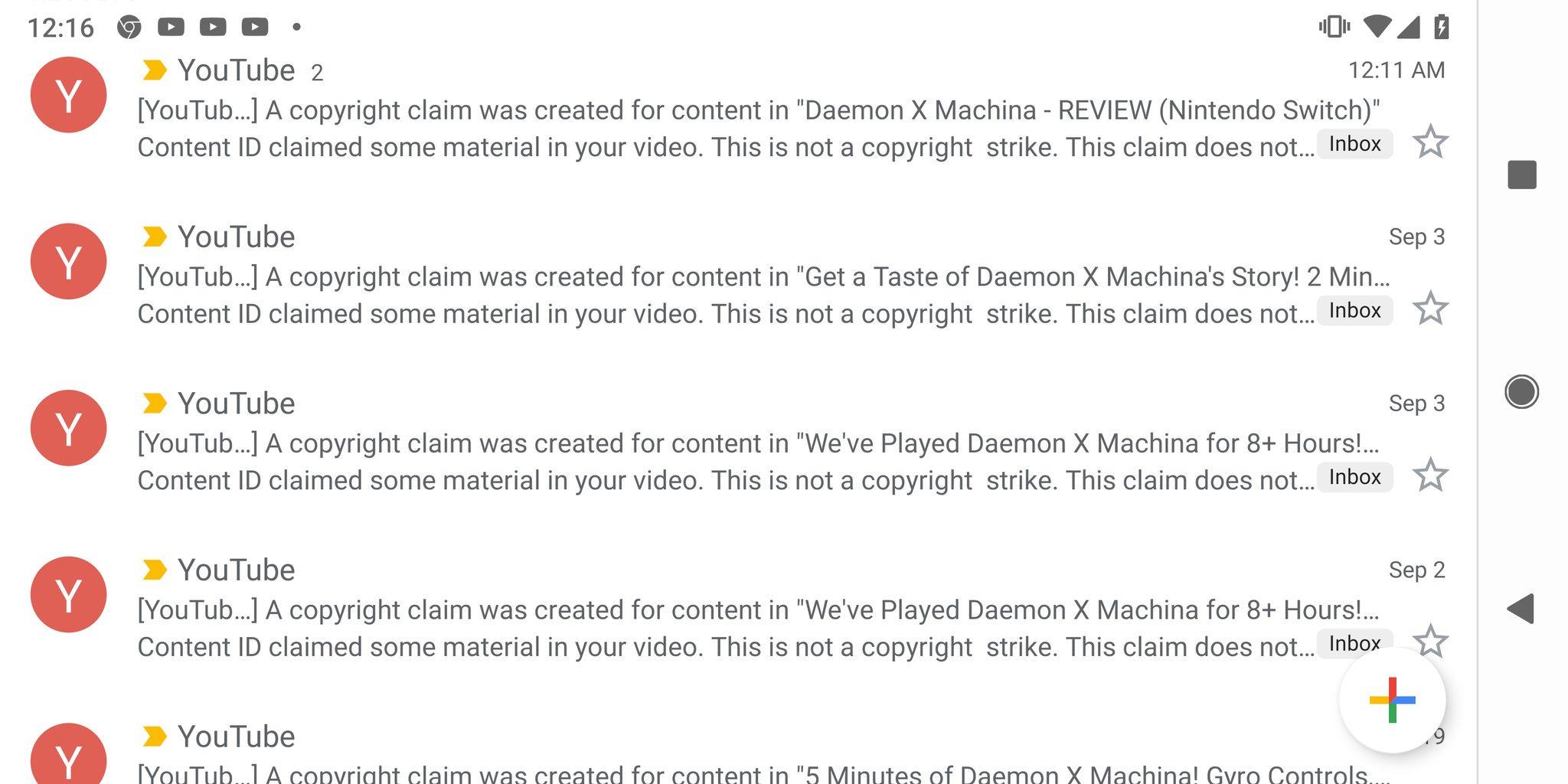 Dozens Of Daemon X Machina Videos Struck Down By Copyright