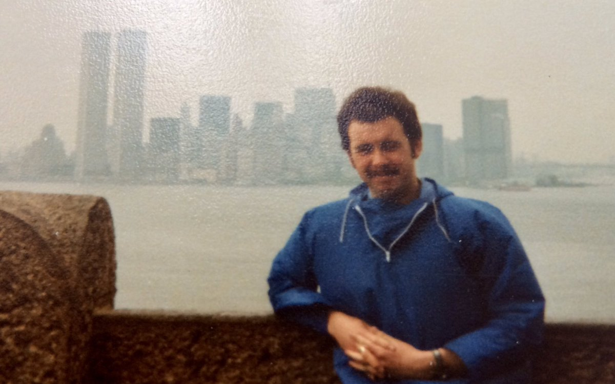 The Twin Towers in 1979. Remembering all those who lost their lives on 9/11 today. #WorldTradeCenter <br>http://pic.twitter.com/gMKACcGVcq