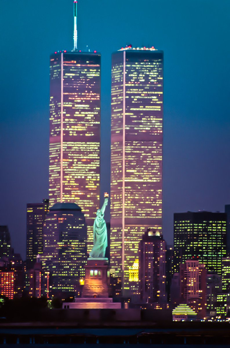 18 years ago today a day that shook the world.  We will never forget.   #911 #NeverForget #WorldTradeCenter <br>http://pic.twitter.com/lUlLqhmcJv
