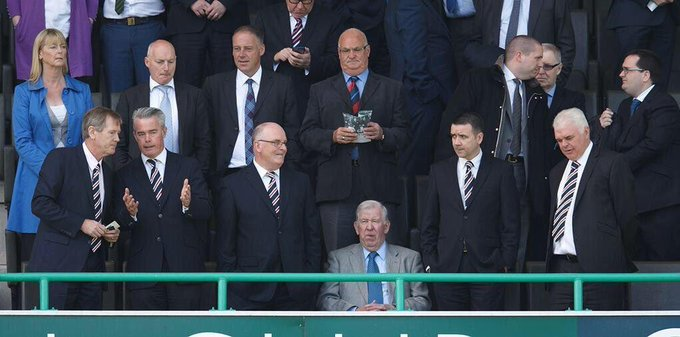 Happy Birthday John Greig When the legend is in the house, everybody stands...