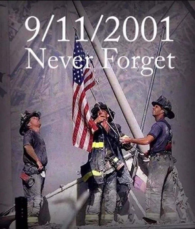 We will NEVER forget.  #9/11 #Sept11 <br>http://pic.twitter.com/V6npxs88wI