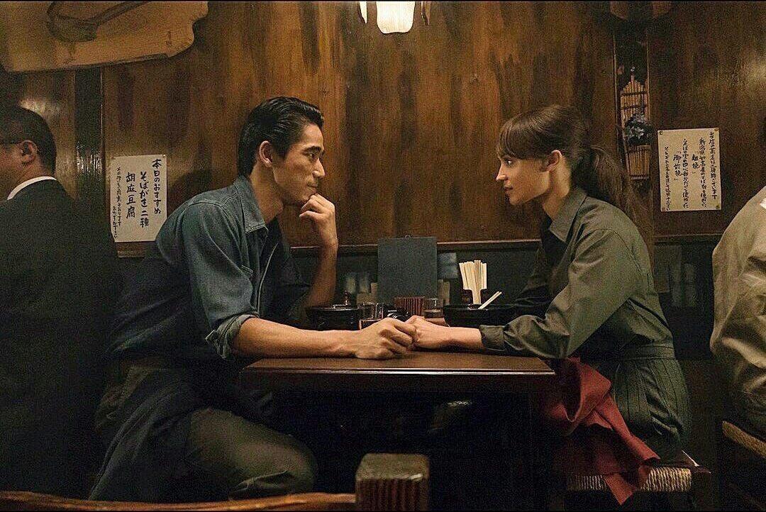 Alicia Vikander: Alicia Vikander and Naoki Kobayashi in Earthquake Bird, out on Netflix November 15th.  ...