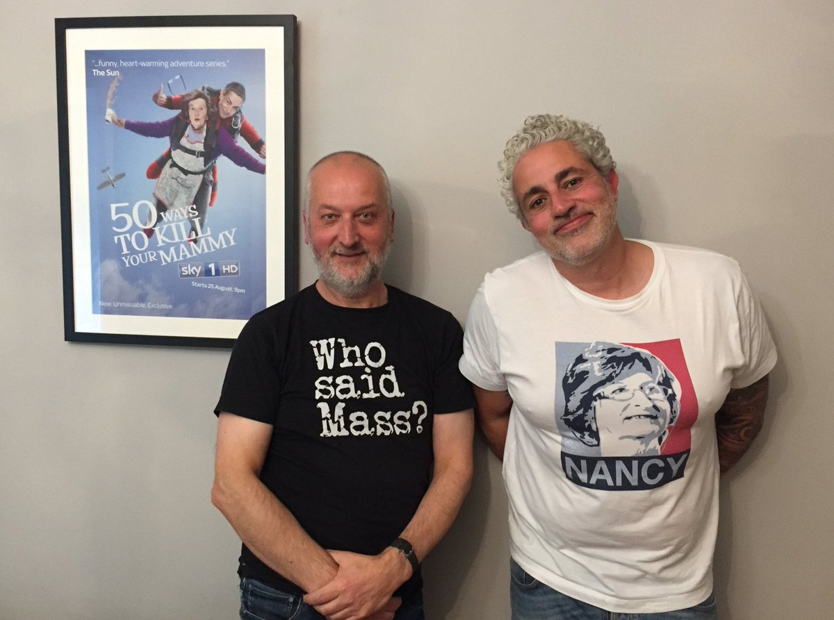 Pat O'Mahony on Twitter: Brand new #media-mad @OffMessage1 #podcast is w/ #50WaysToKillYourMammy's @bazashmawy. He tells me about when he knew 50 Ways would work, dealing with the shutters coming down on work in @rte, knowing when an idea's run its course, and lots more. #LISTEN: