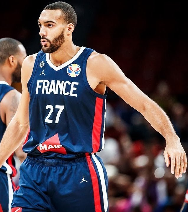 France defeats USA 89-79Rudy Gobert with 22 PTS, 16 REB, 3 BLK