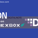 Image for the Tweet beginning: #DigitalNote(#XDN) new market added on