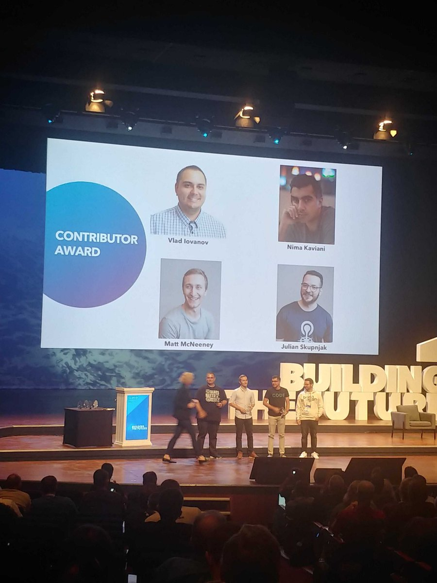Congratulations to our Community Award winners. We couldn't do what we do without you.   #CFSummit <br>http://pic.twitter.com/tojjLsveyj