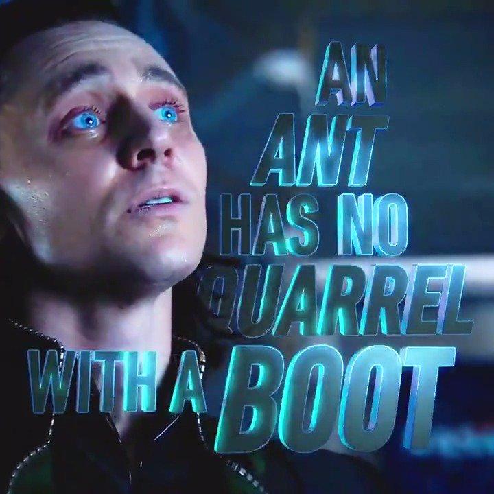 #WednesdayWisdom from Asgard's most slippery customer... https://t.co/Tkjmr90bkj