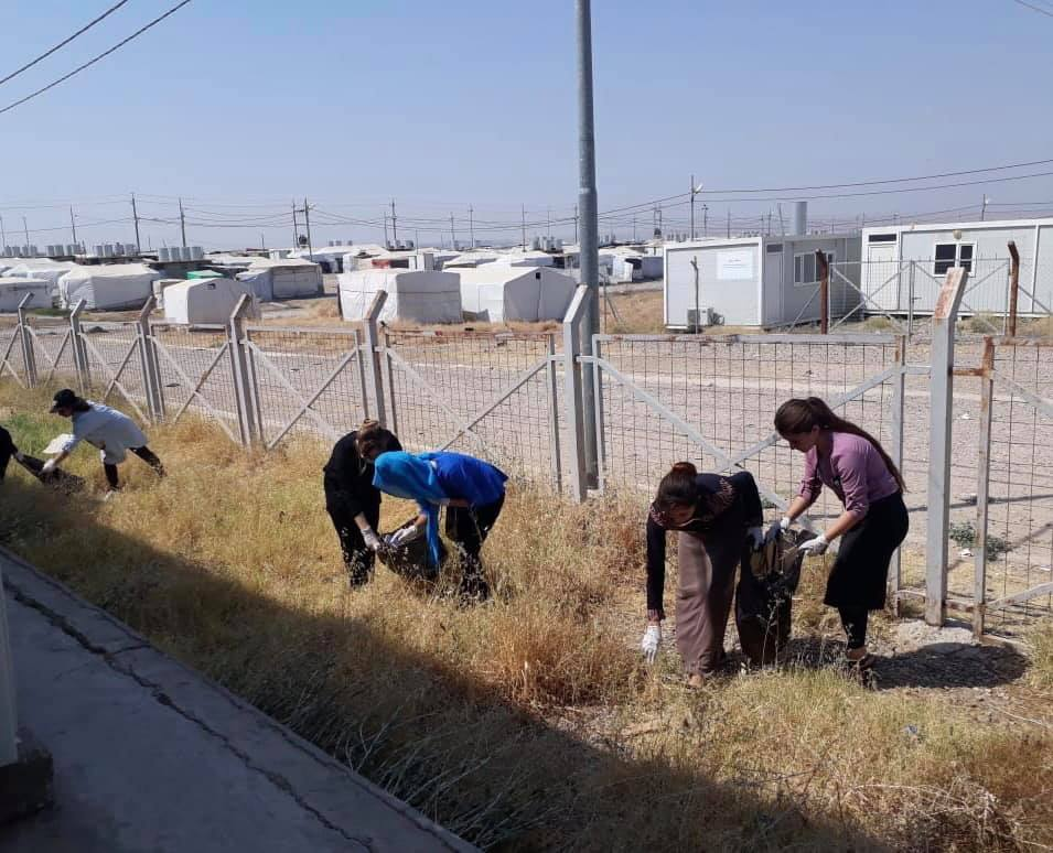 test Twitter Media - Volunteers from the AMAR team in Khanke IDP camp in northern #Iraq have organised & run a clean-up of the camp. They're all residents of Khanke and really want to make life as happy as possible for their friends and neighbours. We hope they inspire you as much as they inspire us! https://t.co/Ei2Mp967nH