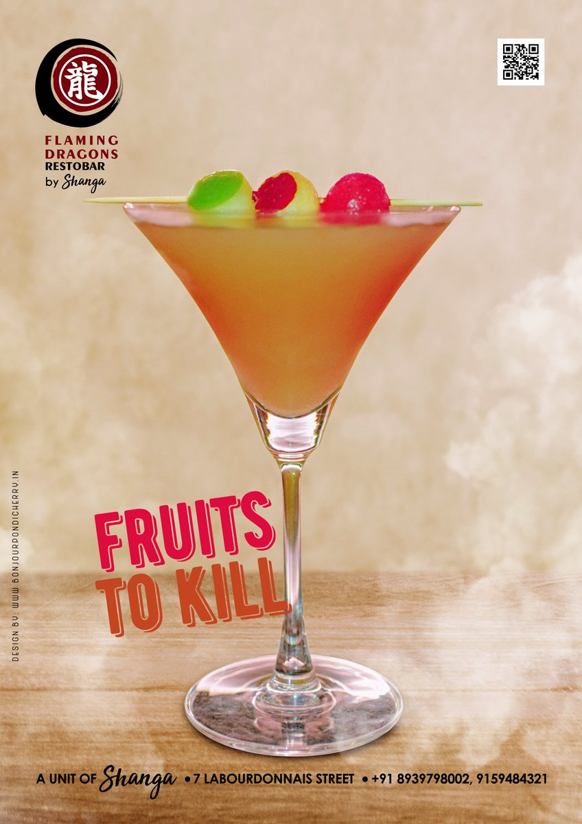 Bonjour Pondicherry On Twitter Try The New Fruits To Kill